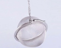 Tea Infuser Stainless Steel Tea Pot Infuser Sphere Mesh Tea Strainer Ball Good Quality 4.5cm 25PCS/Lot
