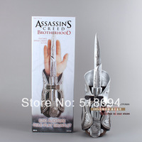 High Quality 1pcs NECA Assassin's Creed Hidden Blade Brotherhood Ezio Auditore Gauntlet Replica Cosplay Christmas Gift MVFG017