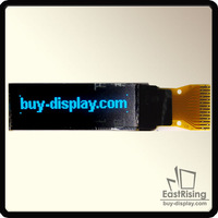 "Free Shipping,5pcs/lot,96x16 Dots,0.84"" inch,MP3 OLED Display Module,I2C Interface,Light Blue on Black Color"