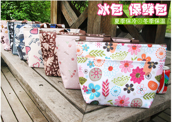 Hot sale Yeah Fashion Design cooler bag retail lunch bag keep food fresh picnic bag(China (Mainland))