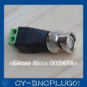 10PCS Mini Coax CAT5 To Camera CCTV BNC Video Balun Connector Adapter