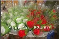 Wholesale - Wedding Favor Gifts cake towel Rose flower Towel cotton towel