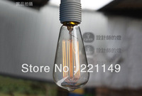 FREE SHIPPING,5Pcs/Bag Vintage Decoration Bulb,E27-40W Filament Edison Bulb Electric Bulb.