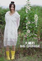 Free shipping rain gear eva translucent scrub raincoat male women's breathable protection poncho