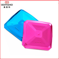 Hot sale! Retail HK post shipping free Power bank diamond L701 7800mAh portable  External battery Pack