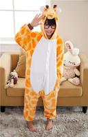 children animal pajamas cartoon cartoon pajamas Giraffe kids pajama sleepwear China Sleepwear Supplier One Piece by0027