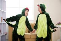 kids pjs Kigurumi Cosplay Costume Animal Pajamas Christmas Gift For Kids warm pajamas Children Cartoon Dinosaur Sleepwear by0031