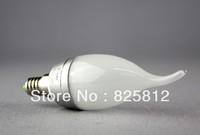 Big Eye color box 3W E14 led tail processed candle bulb led candle bulb led light (warm yellow)