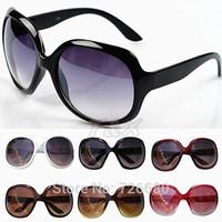 Free Shipping! 2014 Fashion New Goggles Women Lady Summer Shades Squared Wayfarer Multicoloured UV400 Sunglasses 120-0006