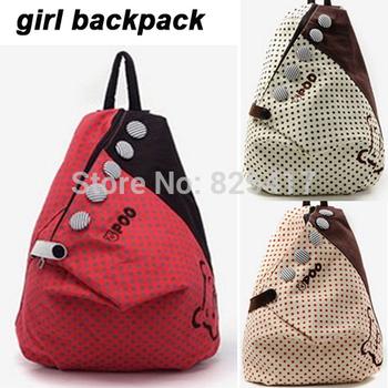 2014 Fashion Cartoon Canvas Women Backpacks Shoulder Bag Casual Style Girl Student School Bags Travel B0032