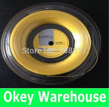Free shipping - Hot !!! Luxilon Alu power rough 125 - tennis racket string