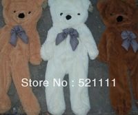 160cm Teddy Bear Plush Toys coat Skin 3color DIY gift Free Shipping NT064