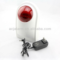 Wireless network sounder siren tamper alarm burglar alarm