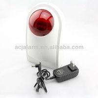 Wireless network sounder siren tamper alarm burglar alarm