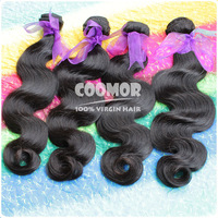 4PCS/lot Virgin Brazilian Hair Weave Body Wave Queen Hair Products ,Unprocessed Virgin Hair ,DHL Free Shipping