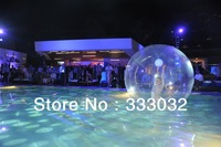 2013 NEW  Fast ship 2 m Inflatable Clear Bubble Ball for Dancing Nice for Stage Sphere dance ball water ball high quality