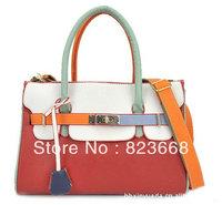 Free shipping 1pce for promotion , ladies' leather handbag, multi-function bag for women,hotesale fashion handbag, bag ladies