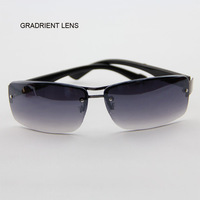 New Arrival ! Fashion Men Sunglasses Matel Hight Qulity Rimless Sun Glasses Driver Googles
