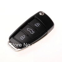 Free Shipping! Audi Car key shape USB Flash Drive 2GB 4GB 8GB 16GB 32GB 100%Full Capacity