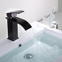 Luxury Surface Chrome Single Handle Bathroom Basin Faucet Sink Mixer Tap Vanity Faucet K-220 Mixer Tap Faucet
