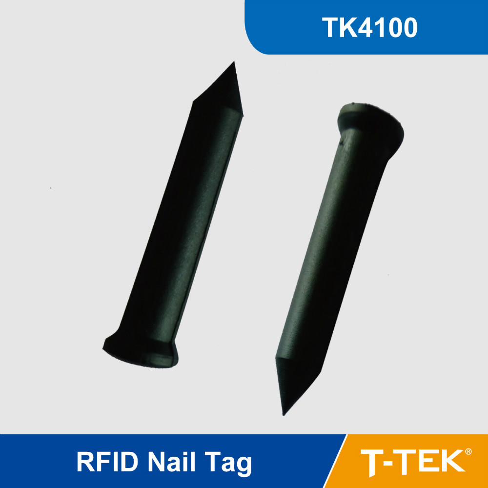 RFID Nail Tag with TK4100 for park management, tree management, asset identification 125KHz proximity for Patrol System(China (Mainland))