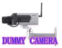 2pcs/lot Wireless Dummy Fake camera Motion Detection LED Surveillance Camera not freeshipping