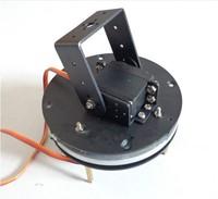 2-DOF robot servo head turntable turntable base + MG995 servo * 2  PTZ Tripod Head Robotic arm base for Arduino