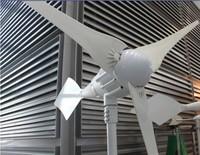 Wholesales 1000W wind generator turbine,5pcs blades,wind turbine,life span 15years,start wind speed 2.5m/s,CE ROHS,ISO9001,