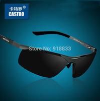 2014 High Quality Aluminum Magnesium Male Sunglasses Polarized Sunglasses Men Sports Sun Glasses Driving Mirror Goggle Eyewear