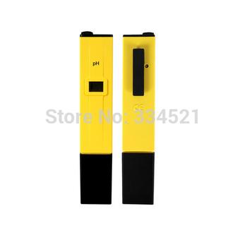 Portable LCD Digital 0-14 Pocket Pen Aquarium Pool Water Test Meter Measure PH Tester+2 Pouches+Battery of CalibrationTD0016