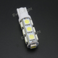 200 Pcs T10 5050 13 SMD 194 168 W5W 13 LED Super Bright Light Led Clearance Lamp Car Door Light Car Light Sourse Interior Lamps