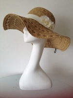 2013 Fashion Sun Floppy Paper Straw Hats For Girs/Women