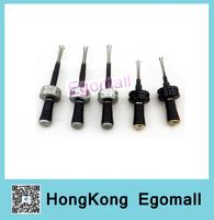 Hot  Adjustable Cross Picks Set 5pcs In 1 Locksmith Tools Lock Pick Set Door Lock Opener Tool 5pcs/set H235