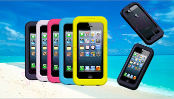 New item Hot 5 color Shockproof Waterproof Case Cell Phone Cases Protector Water Proof For iPhone 4 4S 5 5S
