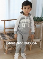 Free shipping ,New Baby Sports Set 2pcs sport clothing set baby wear children sport suit