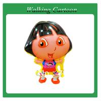 walking cartoon baloon  walking balloon 100pcs/lot promotional toys free shipping