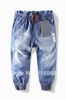 2013 New children 's jeans cotton Denim kids jeans girls pants baby trousers size:2/3t  3/4T 4/5T  5/6T 7/8T  9/10T LJ149