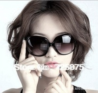 2014 women's fashion star models big box glasses sunglasses free shipping