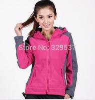 Free shipping 2014 New style Ladies fleece jacket women's jackets outdoor jackets