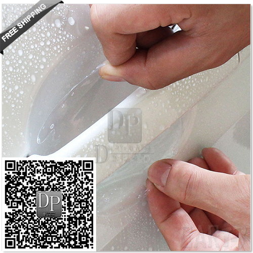 DP_Free Shipping Universal 8pcs Car Door Handle Scratch Guard Protector Film car Handle Paint Scratches Protective sticker Vinyl(China (Mainland))