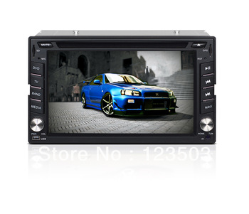 6.2 Inch  Double Din Car PC/GPS/DVD Player/Ipod Playing/RDS/TF Card etc