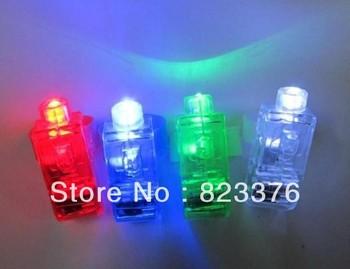 DHL Free shipping 1000PCS LED Finger Light,Laser Finger,Beams Ring Torch For Party,wedding celebration mix color
