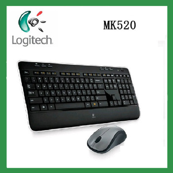 New arrival Original Genuine Logitech MK520 2.4G Wireless Combo computer Wireless Keyboard and mouse
