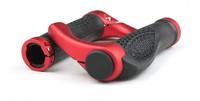 Mountain MTB Ergonomic Bicycle Part Accessories Handle Set Bar Grips Ends 1 Pair bike TPR Grips Endbar Rubber Aluminum Barend