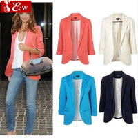 High quality za** cotton jacket for woman NEW summer  female blazer casual suit womens  fashion medium-long jacket plus size