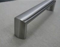 96mm Elliptic Furniture Hardware Stainless Steel Drawer Pulls Dresser Drawer Handles Porcelain Kitchen Cabinet Knobs
