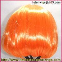 Fashion Bob Style Ladies Short Straight party wigs Fancy Dress Wig orange lot