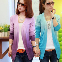 [S-346] Elegant Womens Long Sleeve Cardigan Knit Coat Casual Soft Open Sweater Outwear