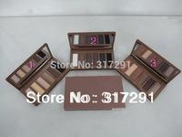 2013 new hot ND BASICS EYESHADOW/EYE SHADOW palette (50 pcs) 3 color!
