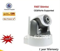 2013 New HD Mega Pixel H.264 720P IRCUT/WPS Wireless IP Network Surveillance Camera  11 LED 10m Night Vision/ SD/RJ45/AUDIO